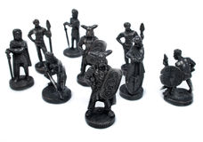 Group of viking isolated Stock Image