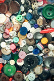 Group of vintage buttons Royalty Free Stock Photography