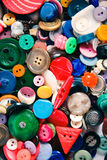 Group of vintage buttons Stock Image