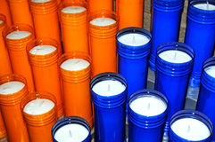 Group of votive candles. Image of a group of votive candles Stock Images