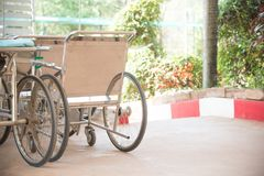 Wheelchair in hospital. Group of Wheelchair stanby in hospital Stock Photography