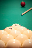 A group of white balls Royalty Free Stock Photo