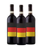 Group of wine bottles Stock Photography