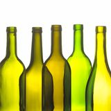 Group of wine bottles Royalty Free Stock Image