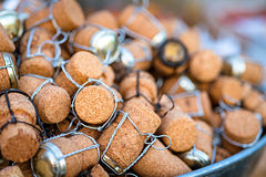 Group of wine cork Stock Photography