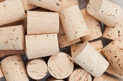 Group of wine corks Stock Photo
