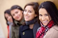 Group of women Stock Image