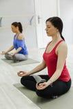 Group Of Women Doing Yoga Royalty Free Stock Photos