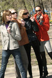 Group of women friends Royalty Free Stock Image
