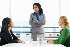 Group Of Women Meeting In Office Royalty Free Stock Photo