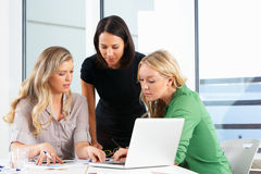 Group Of Women Meeting In Office Royalty Free Stock Photos