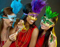 Group of women partying Stock Images