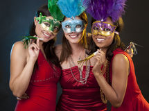 Group of women partying Stock Photography