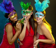Group of women partying Royalty Free Stock Images