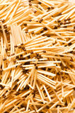 Group of wooden matches. Arranged as background Royalty Free Stock Photography