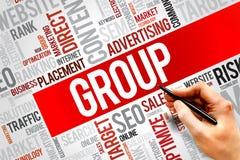 GROUP Stock Photo