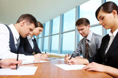 Group work Stock Photo