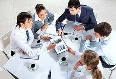 Group work Royalty Free Stock Photos