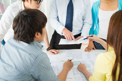 Group work Royalty Free Stock Image