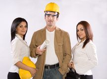 Group of Workers royalty free stock photos