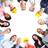 Group of workers people. stock photos