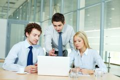 Group working Stock Photo