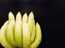 Group of yellow banana ingredient of asia healthcare and energy Royalty Free Stock Photos