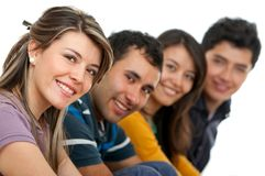 Group of young adults Stock Images