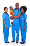 African doctors child Royalty Free Stock Photography