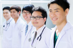 Group of young asian doctor Royalty Free Stock Photos