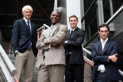 Group of young business Stock Photography