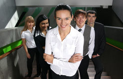A group of young business people Stock Photography