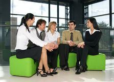 A group of young business people Stock Images