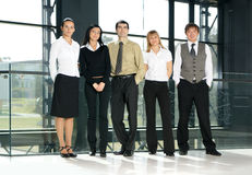 A group of young business people Stock Image