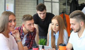 Group of young business people Royalty Free Stock Images