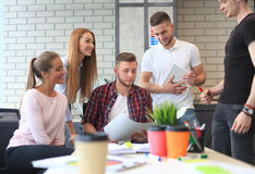 Group of young business people Royalty Free Stock Photography