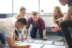 Group of young business people Royalty Free Stock Image