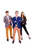 Group of young business people Stock Image