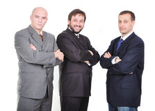 Group of young businessmen together Royalty Free Stock Images