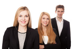 Group of young businessmen Stock Image