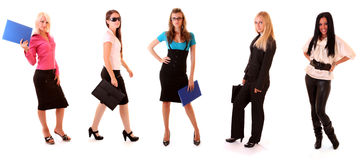 Group of young  businesswoman Royalty Free Stock Photos