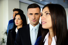 Group of young co-workers Stock Images
