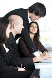 Group of young entrepreneurs Stock Photo