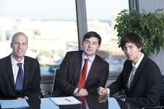 Group of young entrepreneurs Stock Photos