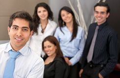 Group of young executives Royalty Free Stock Photo