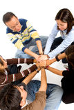 Group of young friends Royalty Free Stock Images