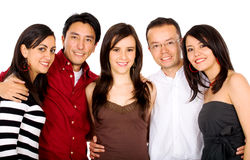 Group of  young friends Stock Image