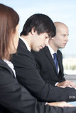 Group of young lawyers. Negotiating Royalty Free Stock Images
