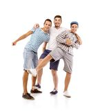 Group of young men Royalty Free Stock Images