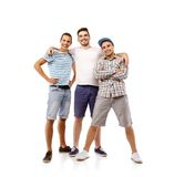 Group of young men Royalty Free Stock Photography